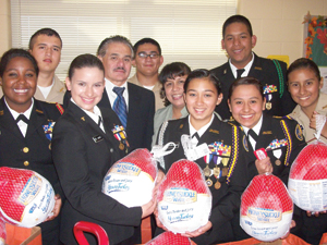 NJROTC turkey pic