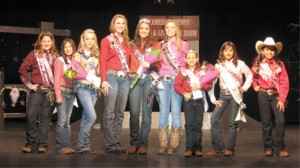 Cowgirls pageant pic