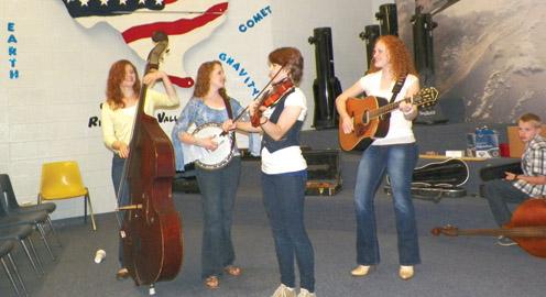 Bluegrass Redheads - Vagabond's Dream