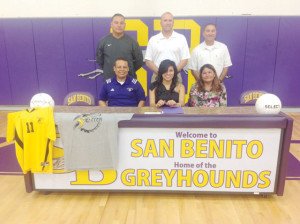 MOVING FORWARD: San Benito's Rubio signs on to Texas College