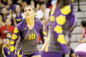 Photo by T.J. Tijerina The San Benito Lady Greyhounds have experienced early success during the 2013 volleyball season. Seen here are the Lady 'Hounds in Harlingen Aug. 13