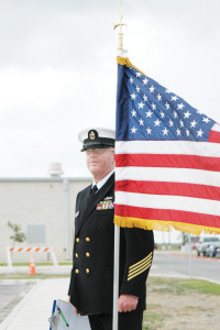 SBCISD photo by Isabel C. González Retired U.S. Navy Chief Petty Officer Richard Williams is seen in an April 2006 photo shortly after the San Benito Naval Junior Reserve Officers Training Corps (NJROTC) completed its annual military inspection. Chief Williams died Thursday, Sept. 26.