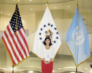 Courtesy photo Pictured is San Benito High School alum Nora Lisa Cavazos, 25, who is currently participating in an internship with the United Nations in New York City, N.Y.