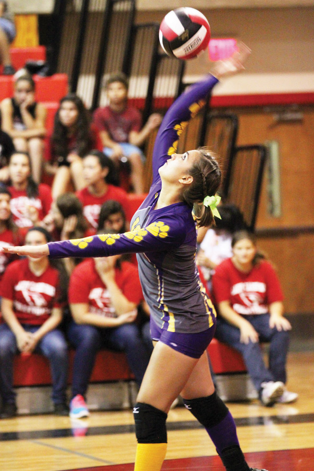 IN FOR THE KILL: Ladies continue to prove top contender status