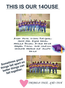 Courtesy photo The image shown was printed on a t-shirt worn by certain members of the San Benito High School varsity cheerleaders and their parents, but it has also been the cause of much controversy within the cheer ranks.