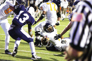 GAME OVER: Hounds end season with 35-34 loss to Weslaco