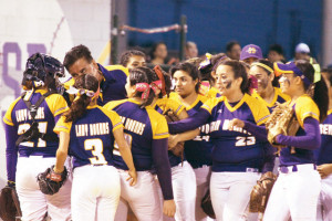 (Photo by T.J. Tijerina) The San Benito Lady 'Hounds will face Sharyland in a best-of-three playoff series this weekend.