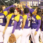 (Photos by Balde Olivarez, KSBG/SBCISD) Go, Ladies, Go The San Benito Lady 'Hounds are seen following their victory against McAllen on Tuesday, April 8.