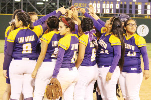 FOUR-YEAR REIGN: Lady 'Hounds stride into playoffs as district champions… again