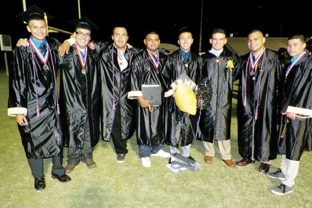 (Photos by Mathew Zuniga) The Rio Hondo High School class of 2014 held its graduation ceremony Friday, May 30 at Bobcat Stadium in Rio Hondo, where seniors received their diplomas.