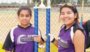 Local softball players compete at national tourney