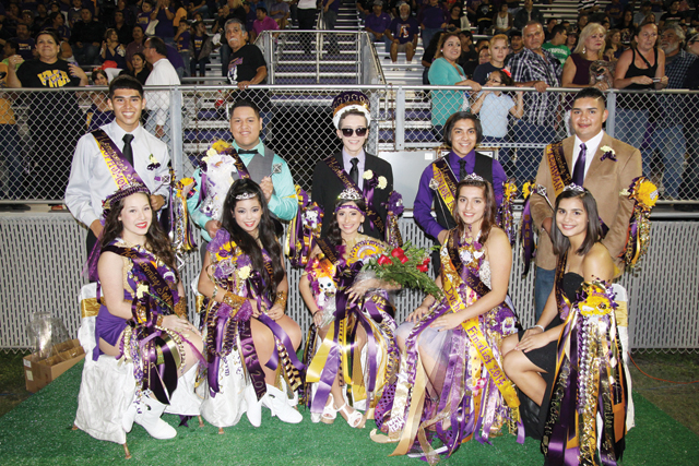 SBHS Homecoming Court pic1-10-29-14