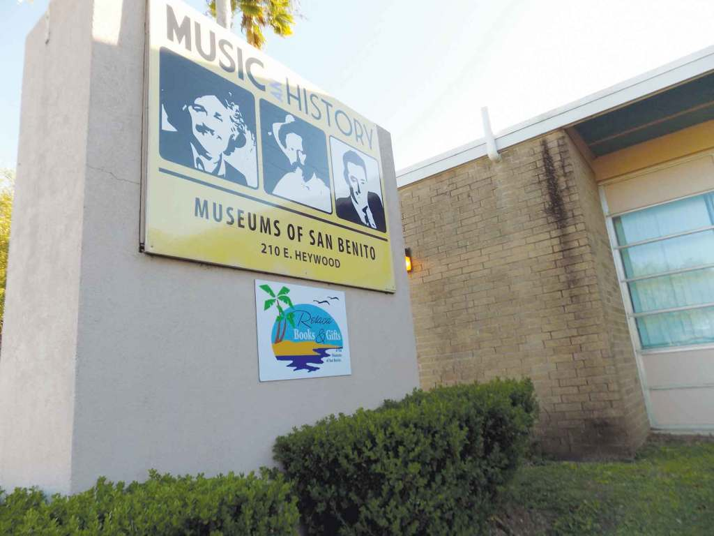 The future location of the San Benito Cultural Heritage Museum remains unknown after city officials told museum representatives that CO funds are available only if used at its current location on Stenger Street.                                                                                                  (Staff photo by Michael Rodriguez)