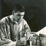 Rev. Eugene Canas shown on the day of his ordination.