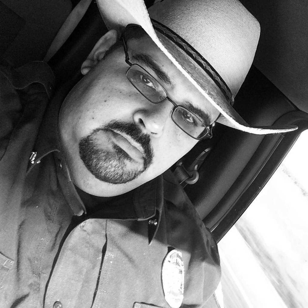 """Sgt. Alfredo """"Freddy"""" Avalos is the only remaining police officer in Indian Lake. (Courtesy photo)"""
