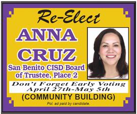 Elect Anna Cruz