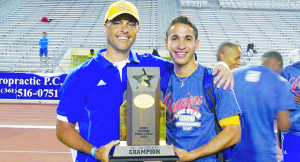 Former SB track star shines in college