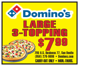 Dominoes Pizza Sale