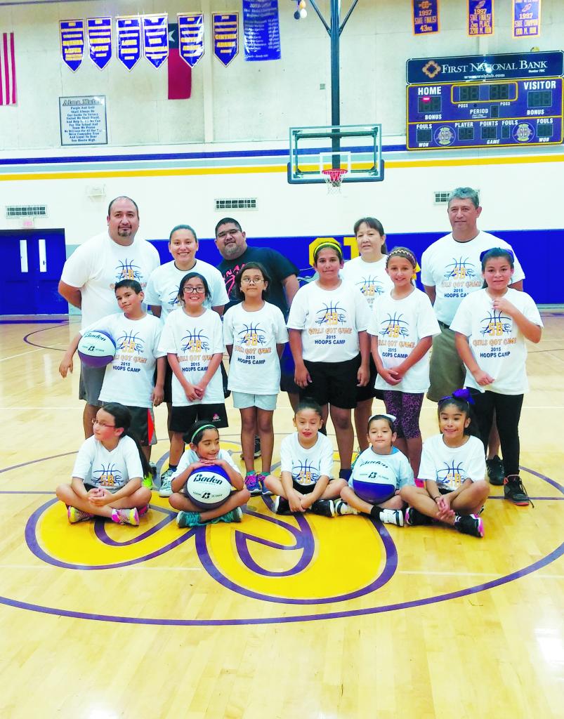 Girls' basketball program hosts inaugural camp