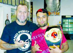 Montalvo set to fight for championship belt
