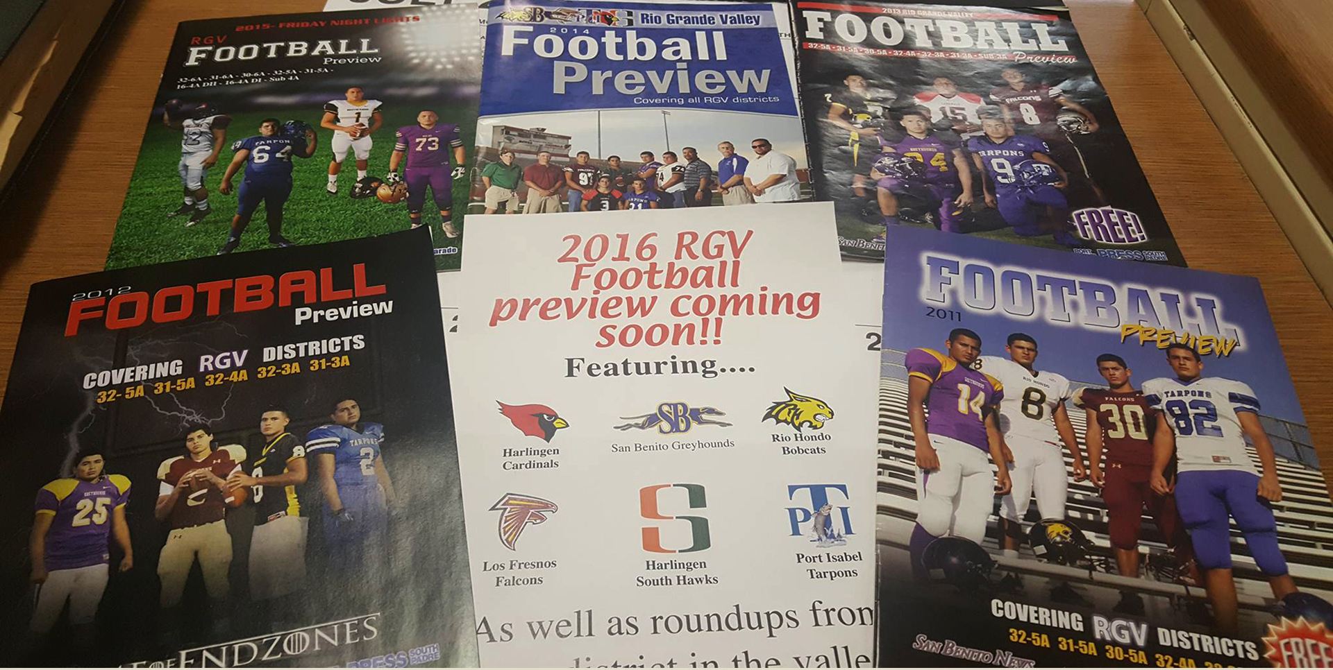 2016 RGV Football preview coming Soon…