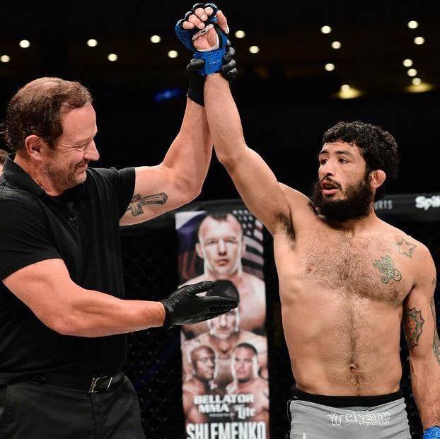 FIGHTING FOR A DREAM: 2007 SBHS graduate notches first win in MMA debut