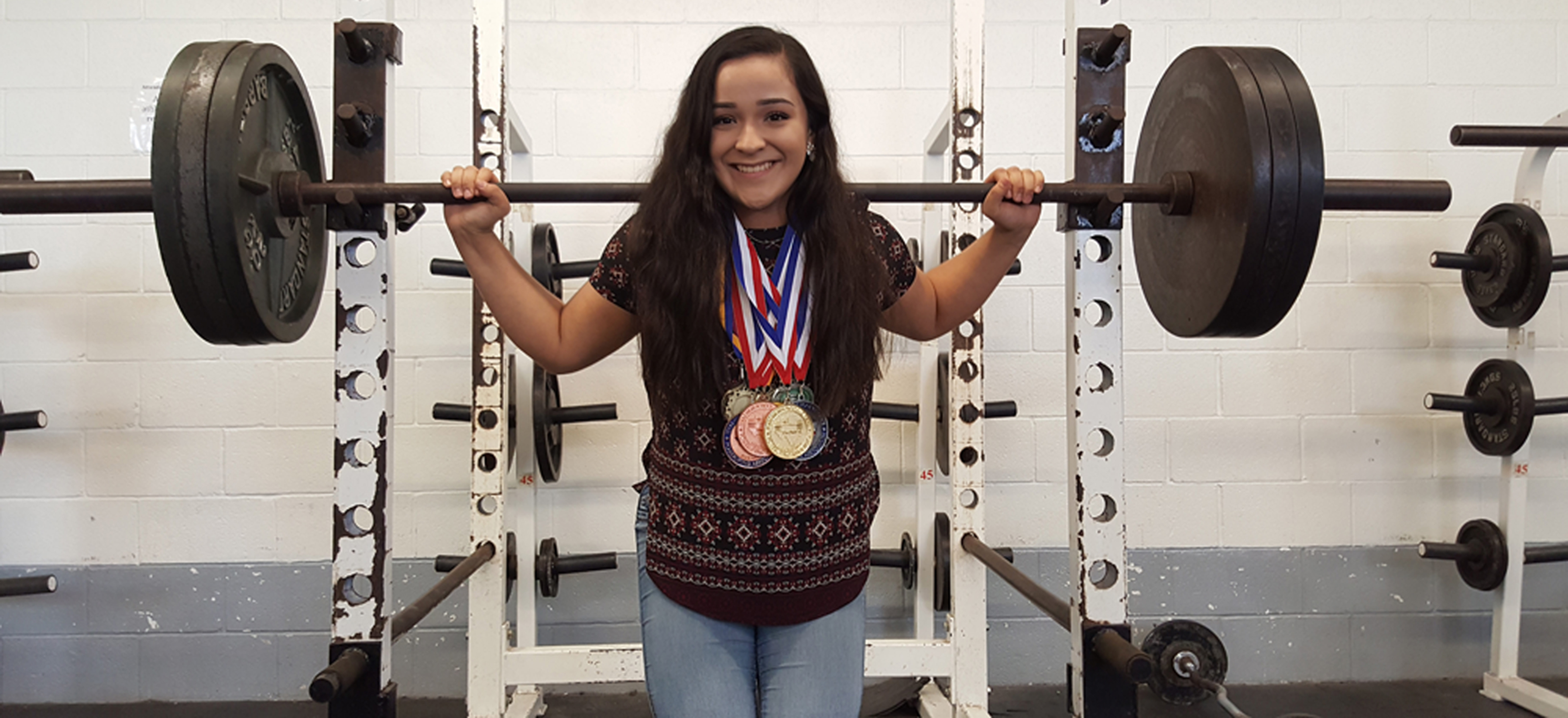 Unstoppable: Junior Powerlifter ready to shatter State