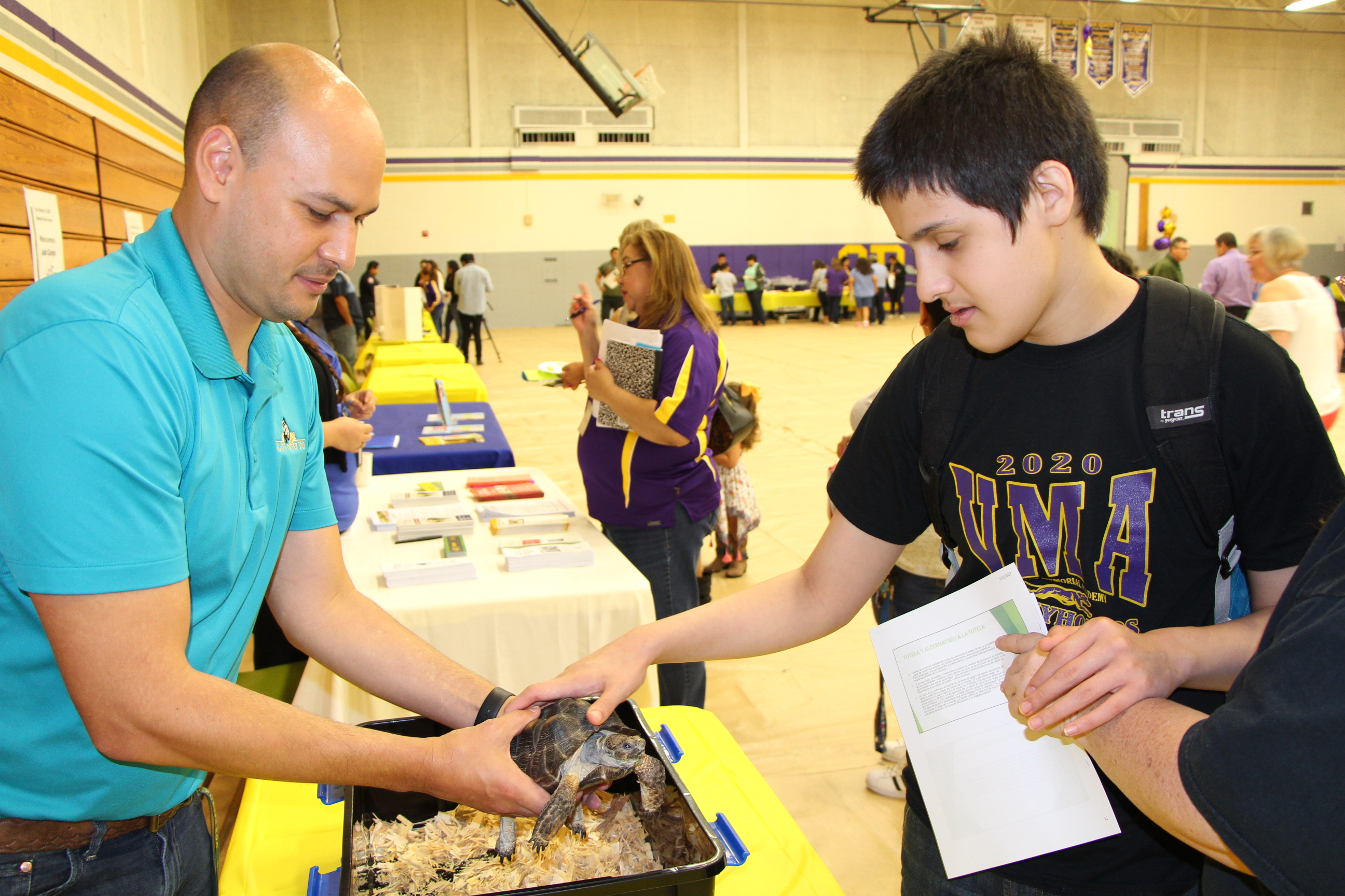 district helps students explore post