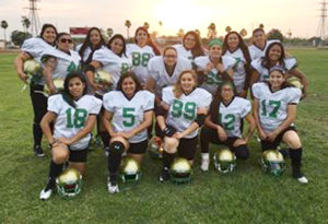 For the love of the game: Women's semi-pro football team preparing for playoffs