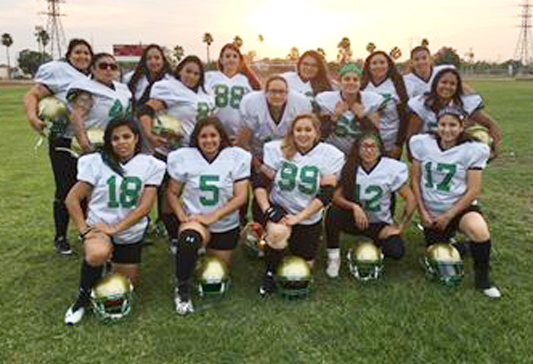 For the love of the game: Women's semi-pro football team ...