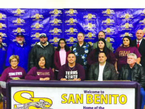 De Jesus on to D-1 Texas State