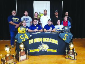 Bush, Martinez sign with Clark college