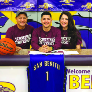 Medrano earns scholarship to Schreiner University