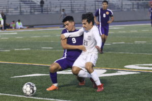 Boys soccer secures key district victory