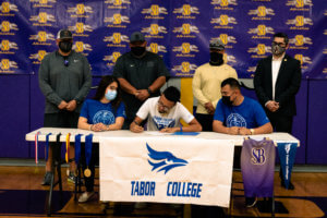 'Hounds track athlete commits to Tabor College
