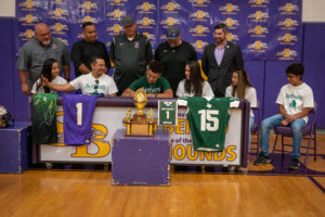 Hernandez signs with Bethany College to play football